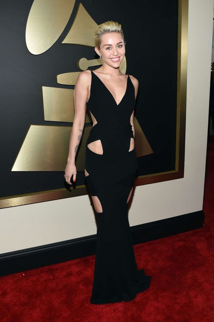 Miley Cyrus - 57th Annual GRAMMY Awards in Los Angeles