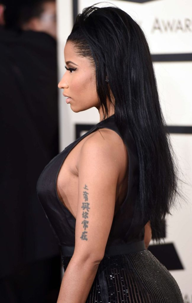 Nicki Minaj 2015 GRAMMY Awards