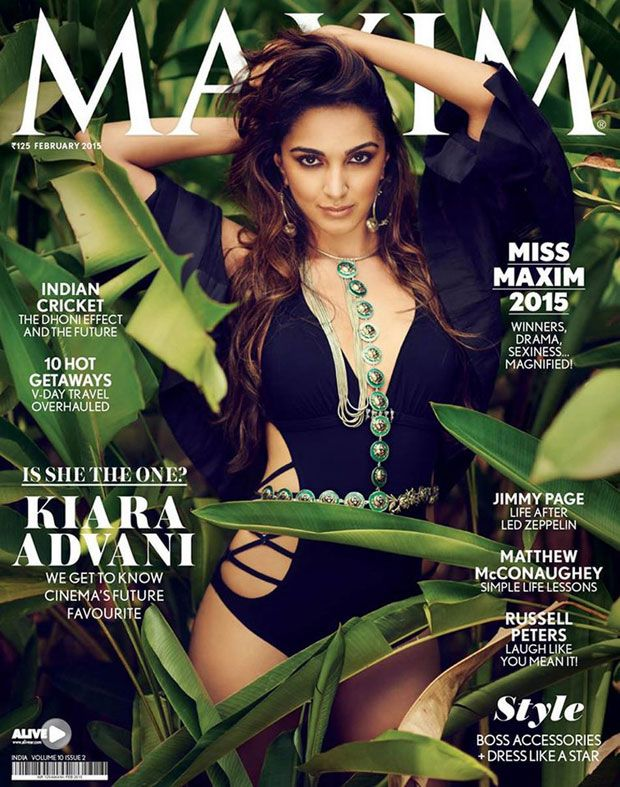 Kiara Advani Swimsuit Pictures From Maxim India Magazine