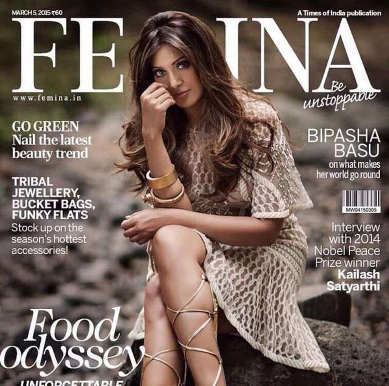 Bipasha Basu Poses For Femina Magazine March 2015
