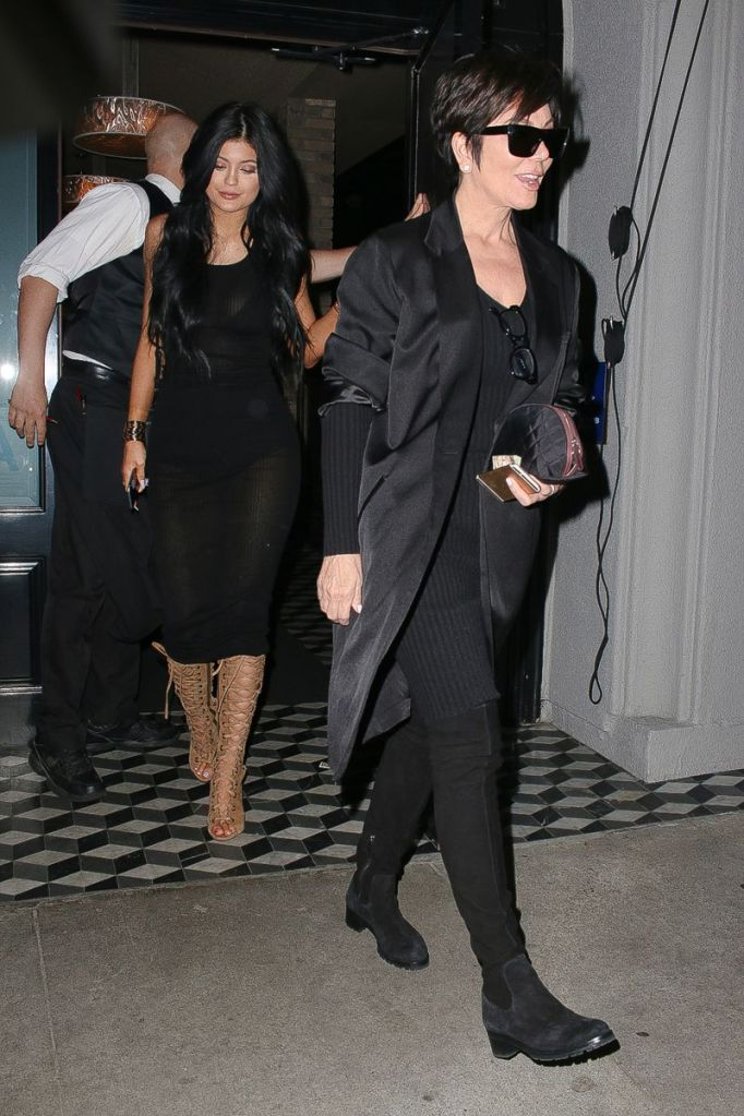 Kylie Jenner - Leaving Craig's in West Hollywood