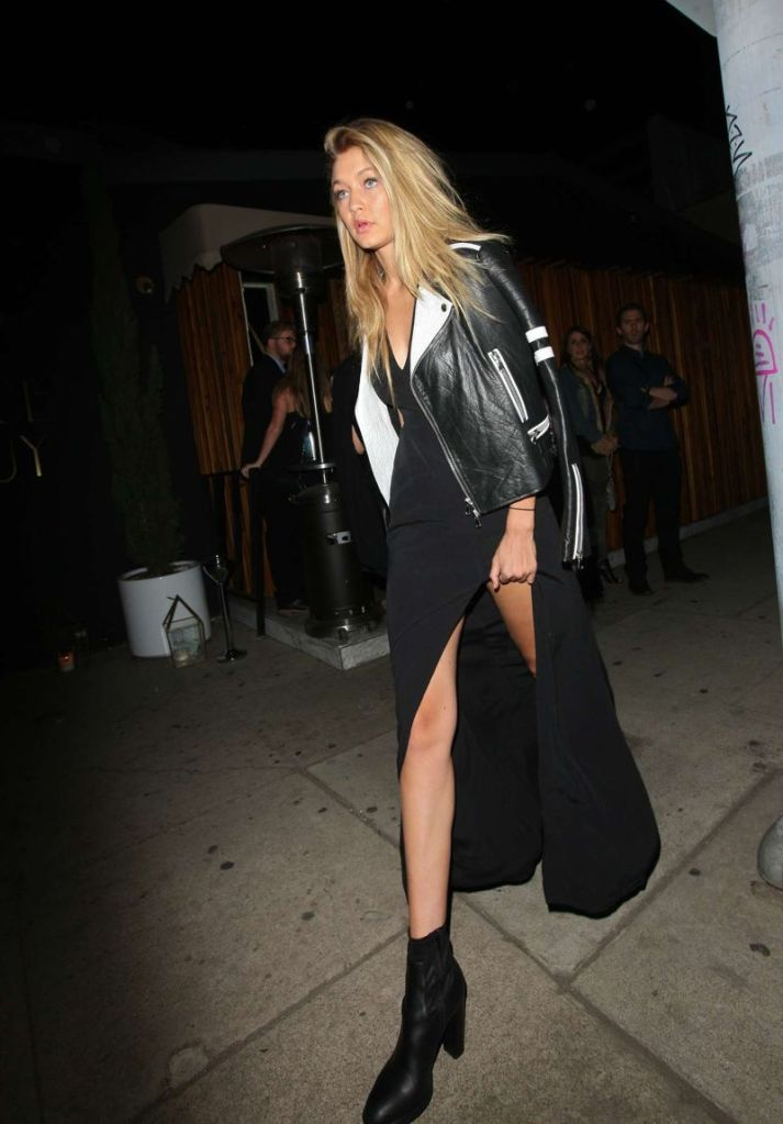 Gigi Hadid at Nice Guy Nightclub