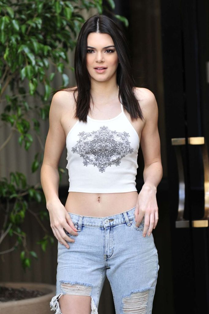 Kendall Jenner by Joey Andrew Photoshoot in LA