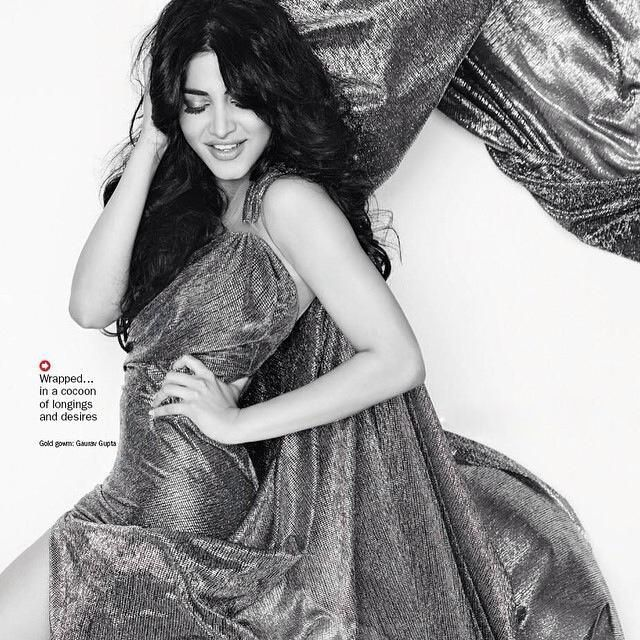 Shruti Haasan on Filmfare Magazine February 2015