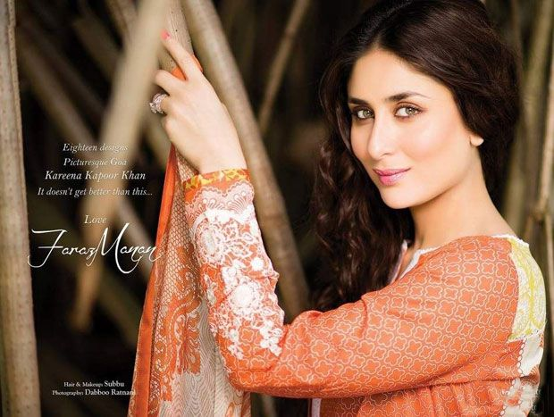 Faraz Manan Crescent Lawn Collection - Kareena Kapoor