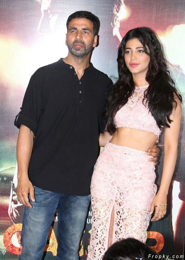 Shruthi Hassan at Gabbar Is Back Movie Trailer Launch