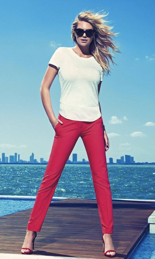 Kate Upton Express Spring 2015 Campaign
