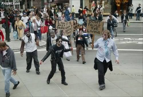 Living Dead Flash Mob