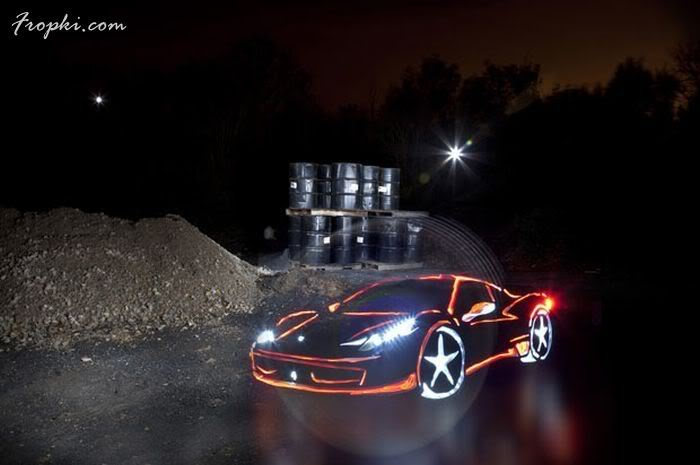 Painting Graffiti with Light
