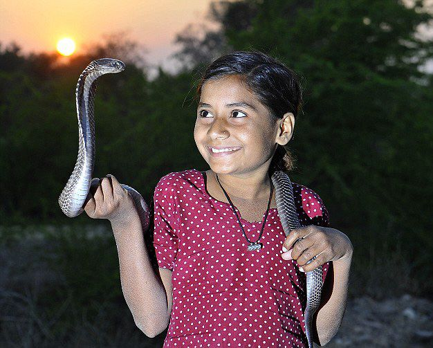 Youngest Snake Charmer in the World