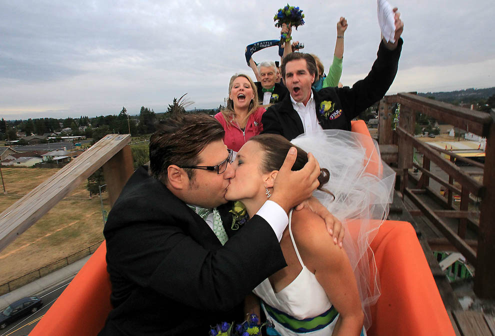 Wedding on a Roller Coaster