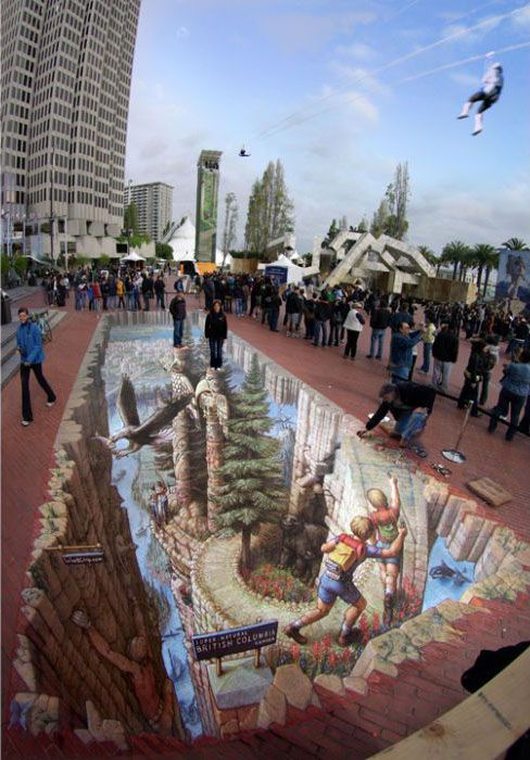 Amazing 3D Art on Roads