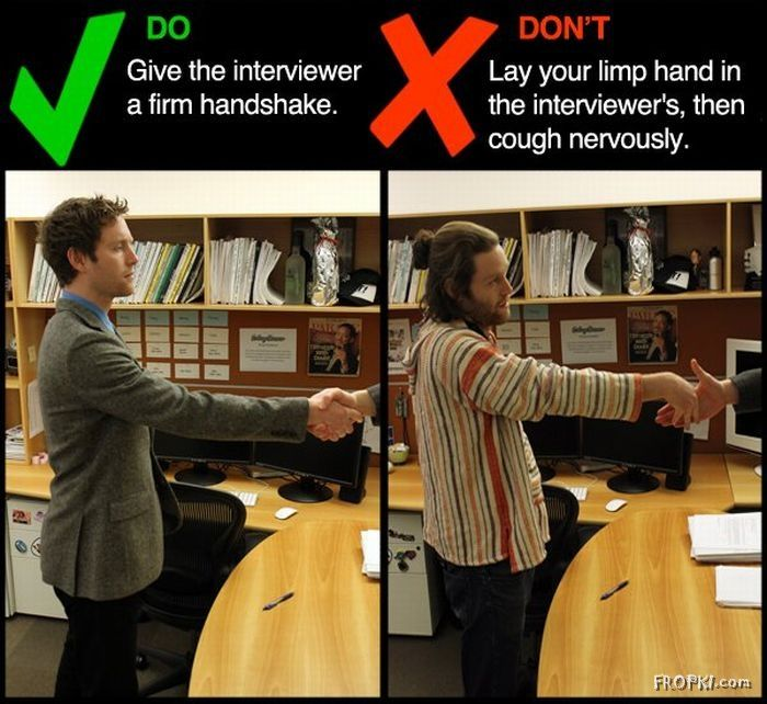 DOs and DON'Ts of Job Interviews