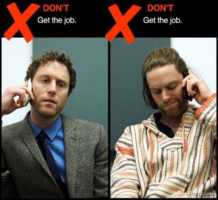 interview dos and donts It seems like the list of job interview do's and don'ts is never-ending to put your best foot forward, avoid these common interview mistakes.