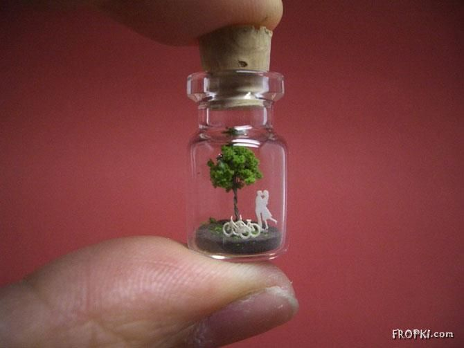 Life Inside a Tiny Bottle