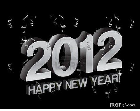 Wishing Happy New Year 2012