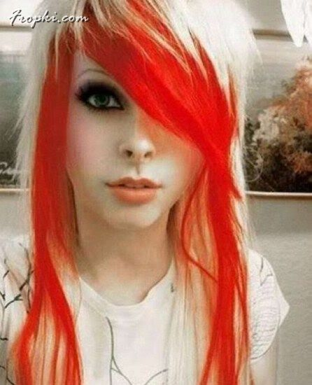 Crazy Girls with Colored hair