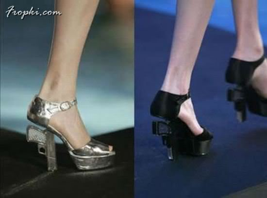 High Heel Shoes for a Female Secret Agent