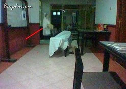 Ghost Pictures or Camera Faults?