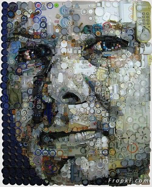 Cool Art made of using Junk