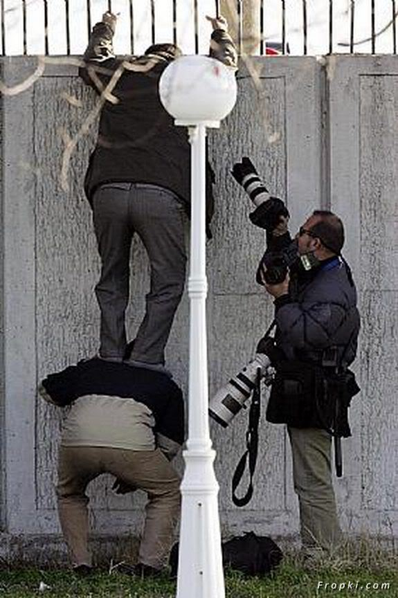 Photographers Doing Everything to Get That Photo Right