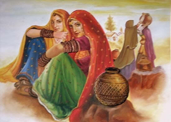 Awesome Paintings from Rajasthan