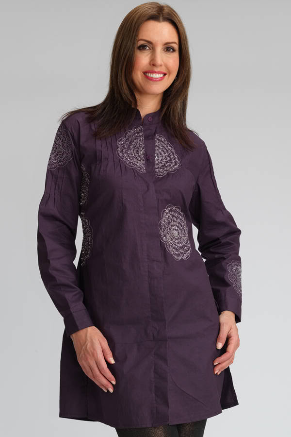 Stylish Kurties on Jeans