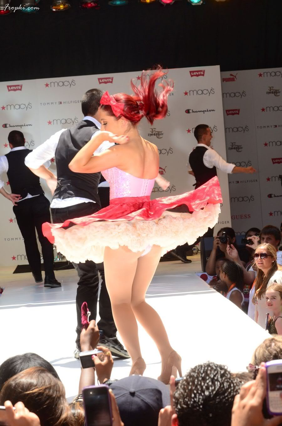 Ariana Grande OOPS Moments at Macy's Annual Summer