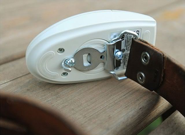 Belt Buckles Made from Computer Mouse