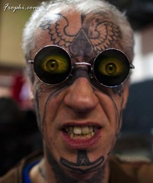 Insane tattoos and Body Modifications