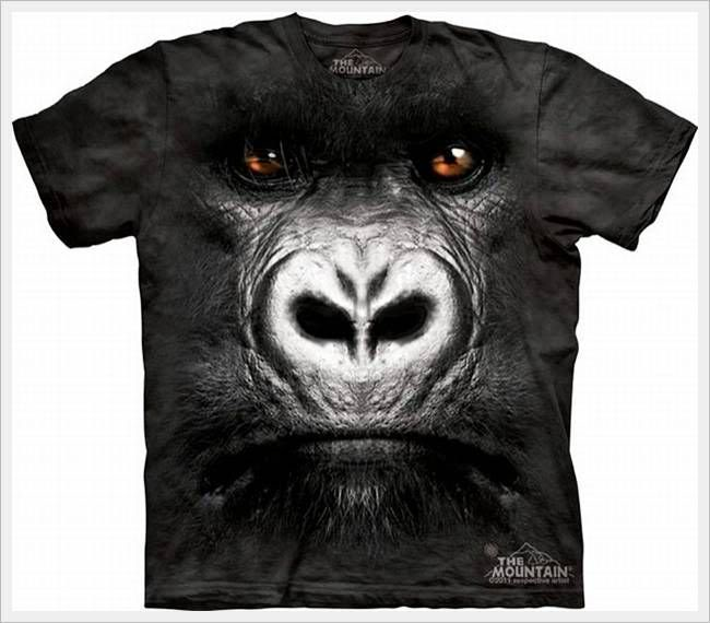 3D Animal Faces on T-Shirts