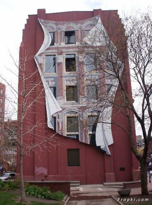 Amazing Paintings on Buildings