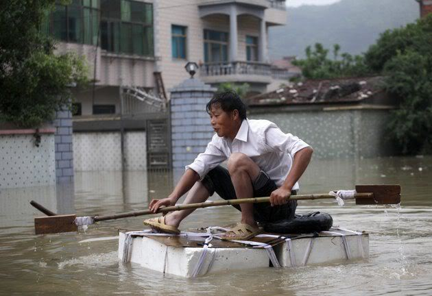 China's Flood Death Toll Rises