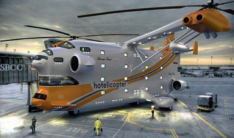 First Hotelicopter in the World
