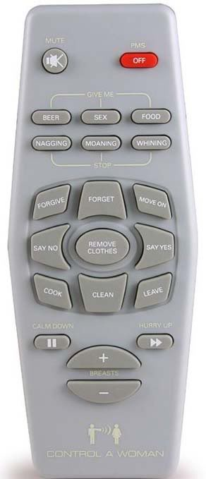 Remote Control for your Woman