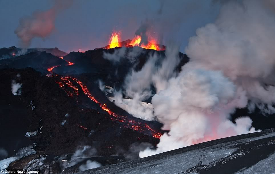 Majestic Volcanoes Up Close