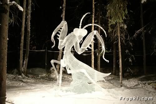 Ice Carvings and Sculptures which should never be Eaten