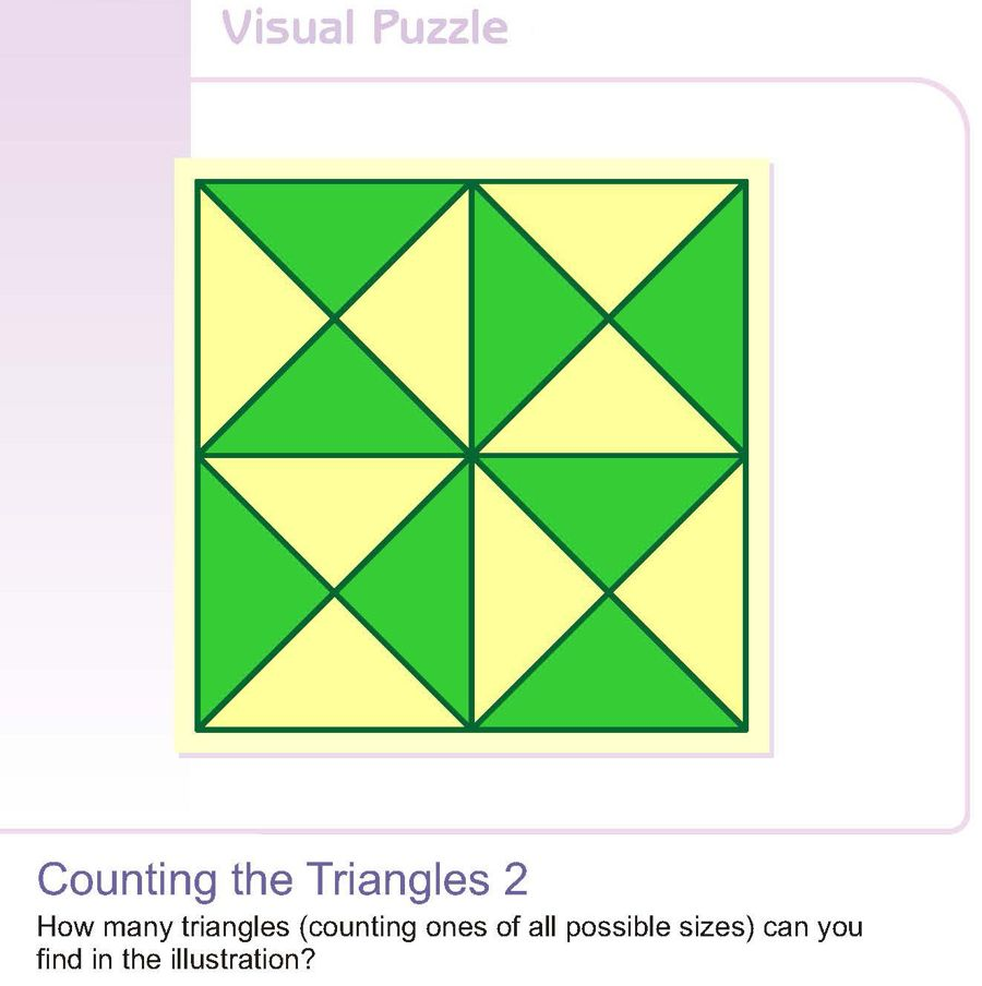 Counting the Triangles 2