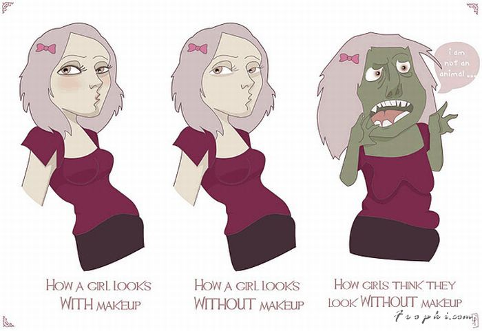 The Truth about Girls and Make-Up