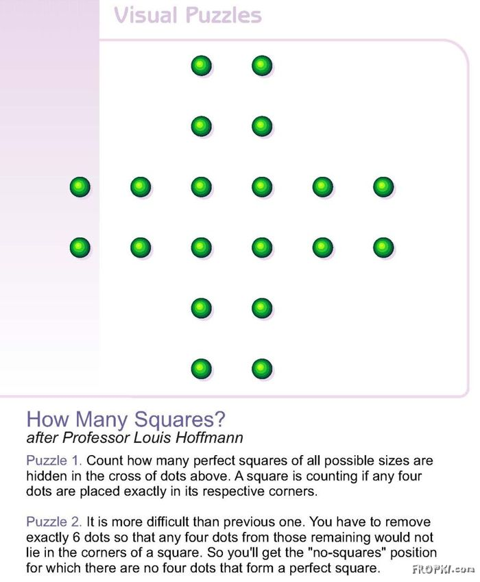 How Many Squares will it make?