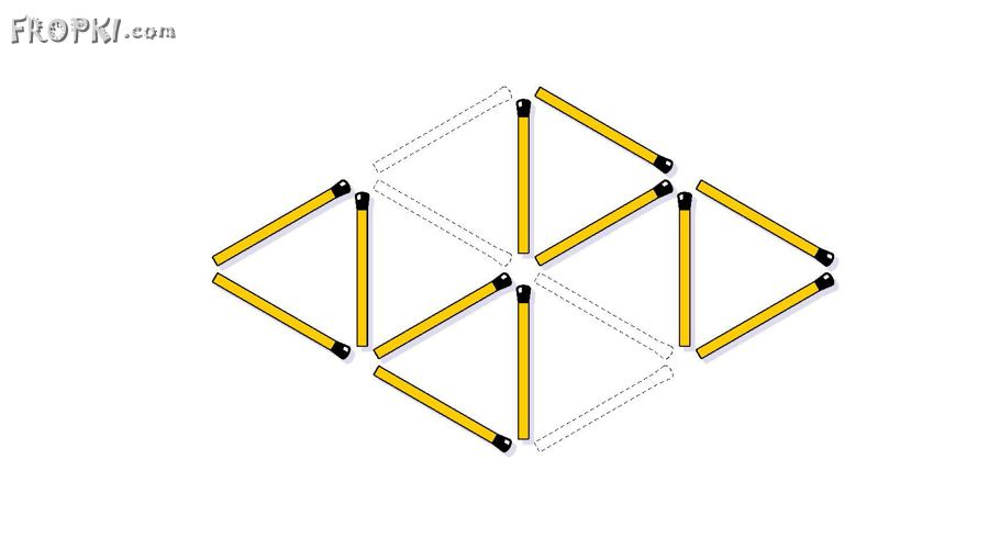 Triangles 10 to 4