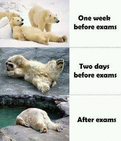 Students B4 and After Exams