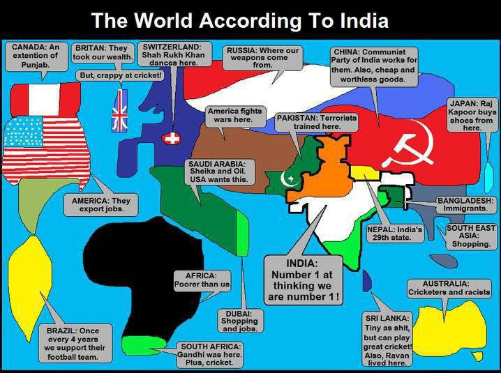 The World According to India