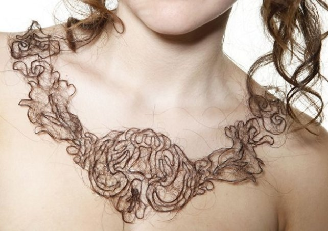 Artistic Hair Necklaces