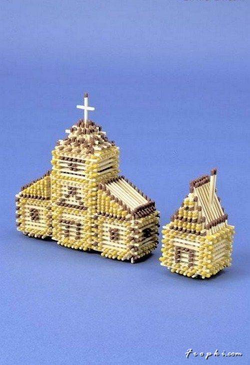 Ever thought of matchsticks like these