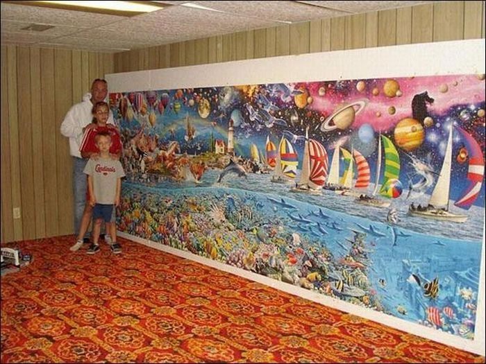 World's Largest Jigsaw Puzzles