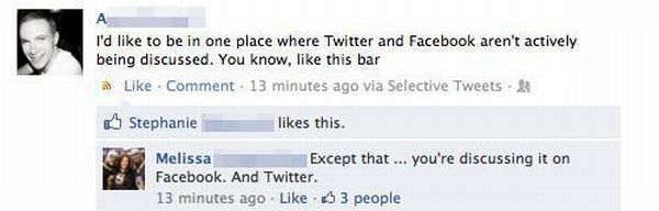Facebook Conversations - As Stupid as it Gets
