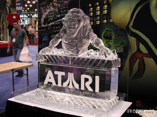 Coolest Ice Sculptures for Geeks