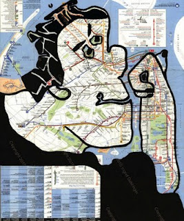Recycled Old Maps utilized in a Innovative Way