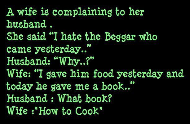 Wife and the Beggar